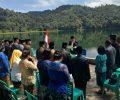 Unik, Pejabat Eselon 2 Dilantik di Tepi Danau Rana Mese