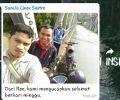Jasad Yanto Ditemukan Didasar Sungai Tengku Siwa