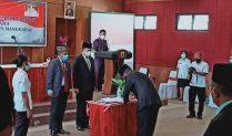 Kadis Pendidikan, Kadis Peternakan dan Setwan Manggarai Dimutasi Jadi Staf Ahli