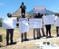 Protes RKUHP dan Kasus Dandhy, Wartawan di Manggarai Lakban Mulut