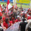 Demo May Day di Ruteng Ricuh
