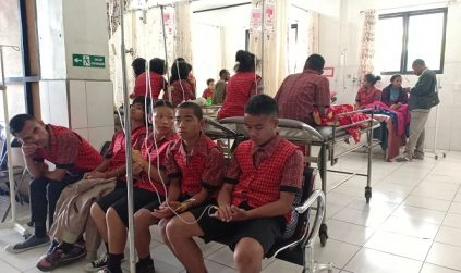 Kasihan, 47 Orang Penyandang Disabilitas di Ruteng Keracunan Makanan