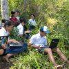Ironi Pendidikan, SMP Negeri di Manggarai Timur Selenggarakan Ujian Online di Atas Bukit