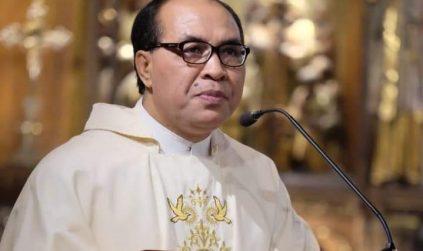 Paus Fransiskus Angkat Pastor Siprianus Hormat sebagai Uskup Ruteng