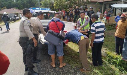 Tragis Laka Lantas di Lawir Ruteng, Anak yang Dibonceng Bapaknya Tewas Dilindas Truk
