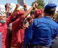 Demo Tolak Pabrik Semen Ricuh, Polisi Hajar Mahasiswa