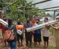 BPBD Manggarai Salurkan Bantuan Bencana kepada Warga Golo Bilas
