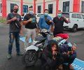 Polisi AmankanBelasan HP Curian dari Dua Pemuda Ini