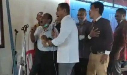Viral Video Bupati Heri Nabit Langgar Prokes COVID-19 di Pesta Nikah