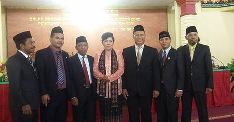 Gadul Gabriel, DPRD PAW Dilantik Menggantikan Almarhum Ansel Ody