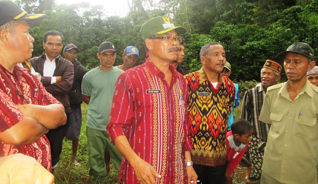 Proyek Embung Di Desa Gelong Lelak Terancam Batal