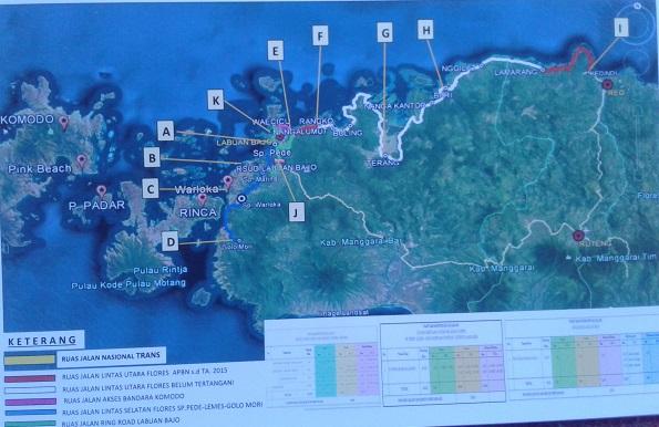 Kementerian PUPR Coret Proyek Pendukung Pariwisata Komodo Rp.255 Miliar