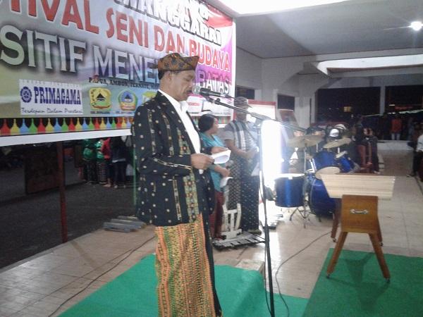 Wabup Viktor Madur Buka Festival Seni Dan Budaya Di Ruteng