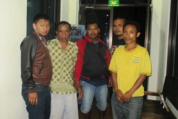 Dua Penjudi KP Di Borong Diringkus,Polisi Dituduh Salah Sita Uang