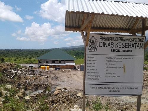 Bangunan Gedung Rawat Jalan RSUD Matim Tanpa Mark Up dan Legal PHO