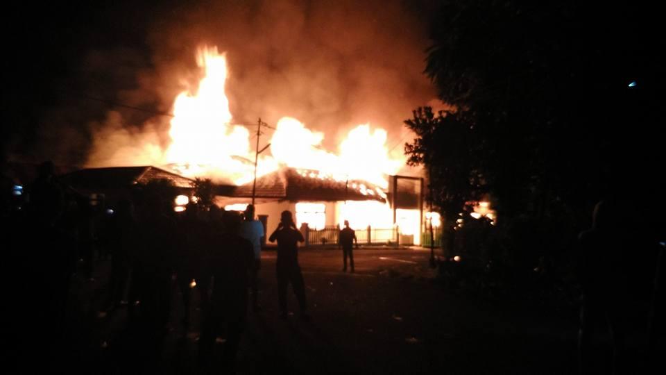 Kantor Terbakar, Kejaksaan Berkantor Di Rumah Dinas Pimpinan DPRD