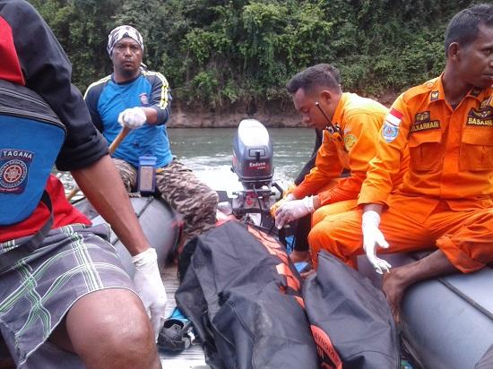 Dua Korban Tenggelam Wae Musur Ditemukan,Kegiatan SAR Berakhir
