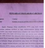 Intimidasi Warga,Dua Oknum Polisi Di Manggarai Dilaporkan Ke Polda NTT
