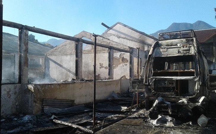 Paska Kebakaran ,Kemendagri Langsung Ganti Server SIAK Disdukcapil Manggarai