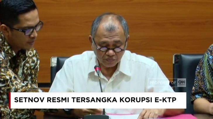 KPK Keren, KPK Kuat dan KPK Tetap Independen, Berani Tersangkakan Setya Novanto dalam Kasus e-KTP