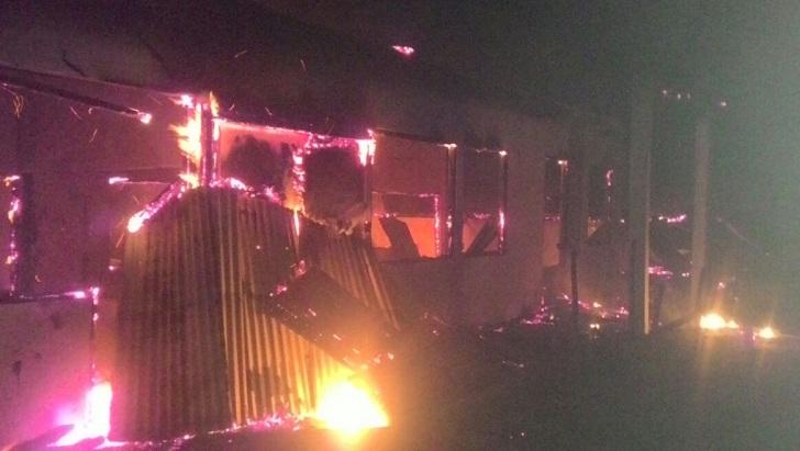 SMA St Maria Iteng Terbakar, Diduga Akibat Korsleting Listrik