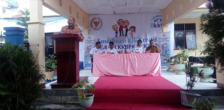 BKKBN dan Komisi XI DPR RI Gelar Sosialisasi KIE di Ende Flores