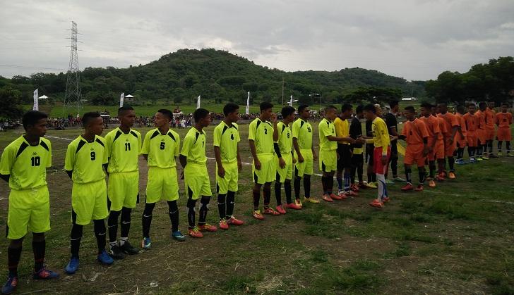 HUT NTT ke-59, Kemenpora Buka Turnamen Sepak Bola di Lembor