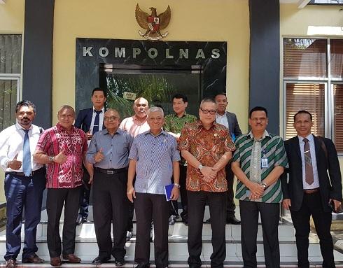 TPDI dan Pemuda NTT Laporkan Kasus OTT Polisi di Manggarai ke Kompolnas