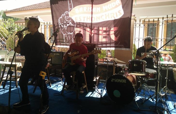 Barisan Muda Gelar Panggung Musik untuk EsthonChris
