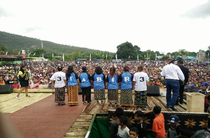 Kampanye Akbar TABIR di Borong Dihadiri 15 Ribu Orang