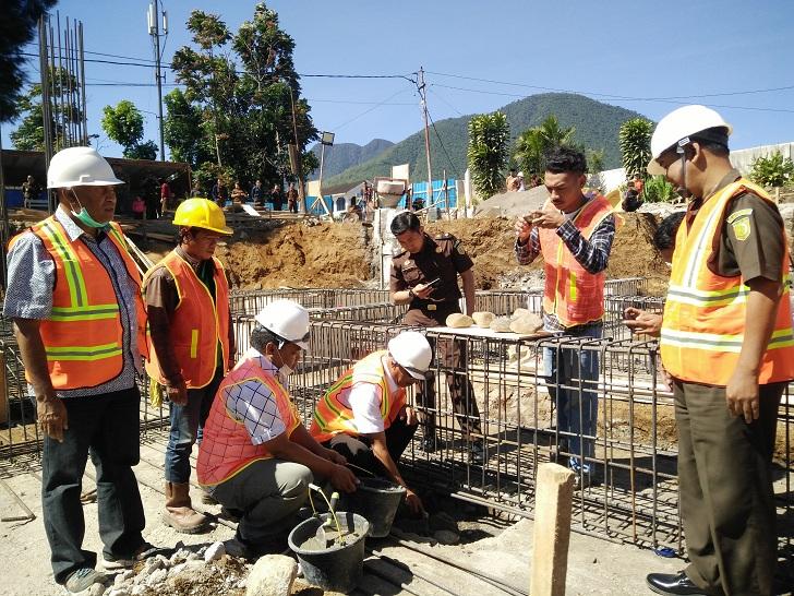 Forkopimda Lakukan Peletakan Batu Pertama Pembangunan Kantor Kejaksaan Negeri Manggarai