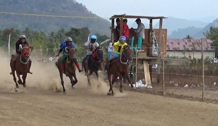 Seru! Pacuan Kuda di Nanga Banda Reok