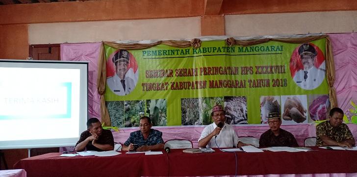 Gempur Stunting di Manggarai, Rekomendasi HPS ke 38