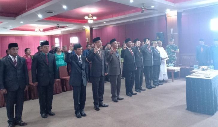 Akhir Tahun, Bupati Deno Rotasi Tujuh Pejabat Eselon II-B