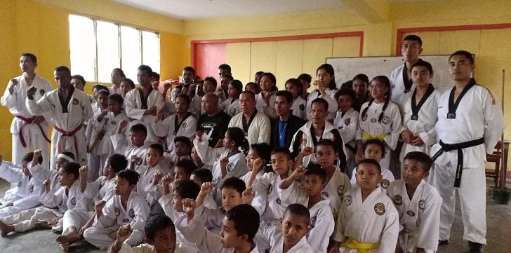 97 Taekwondoin Manggarai Ujian Naik Sabuk, Pengurus : Ini Ajang Penjaringan Atlet