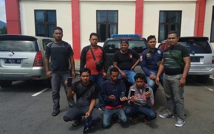 Polisi di Ruteng Tangkap Pencuri HP dan Penadah