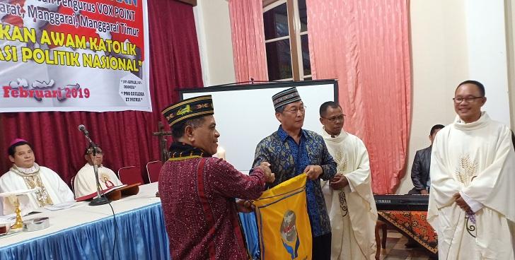 Pengurus Wilayah Manggarai Raya Dilantik, Ini Tiga Fungsi Vox Point Indonesia