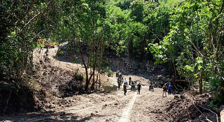 Jalan 6,6 KM di Desa Watu Baur Jadi Kado Istimewa TMMD 2019