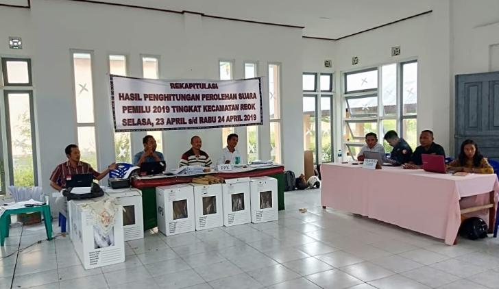 Pleno Rekapitulasi Suara Kecamatan Reok Digelar Hari Ini