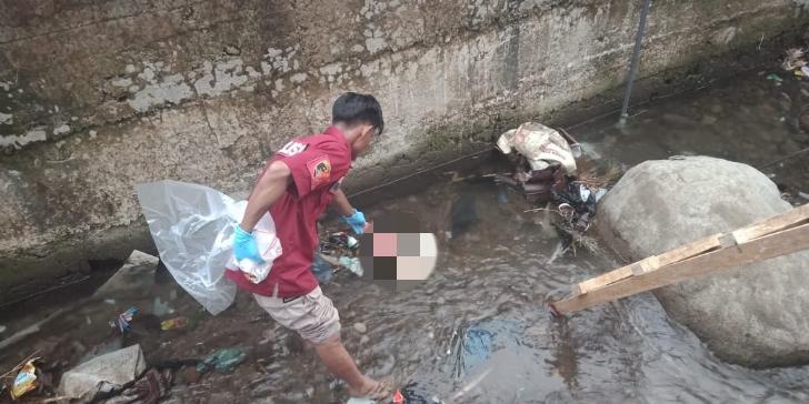 Jasad Bayi Ditemukan Mengambang di Kali Wae Ces Ruteng