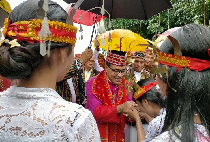 Antisipasi Corona di Acara Pentahbisan Uskup Ruteng