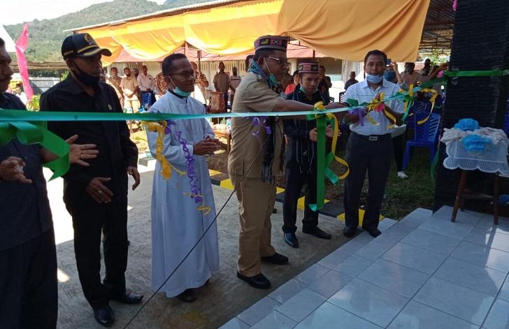 Bupati Matim Resmikan Gedung BLKK Seminari Kisol