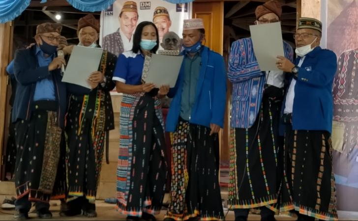 Deklarasi Parpol Pendukung DM Dihadiri Ribuan Pendukung