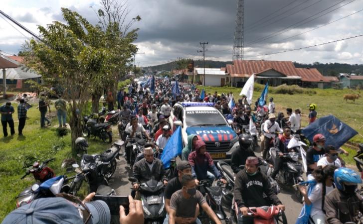 Konvoi Kendaraan Memacetkan Kota, Deno Kamelus Minta Maaf