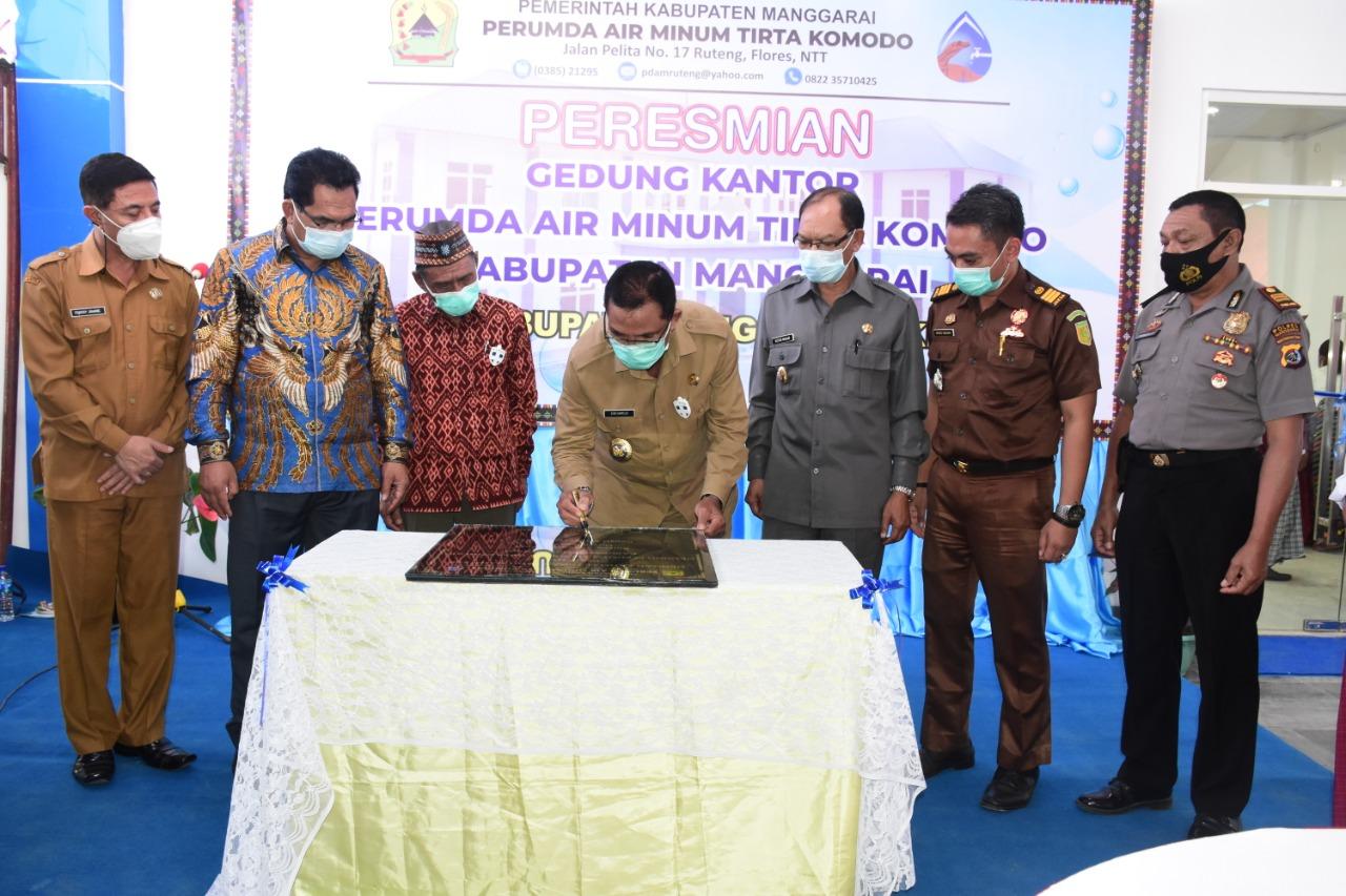 Kebijakan Ciamik Perumda Tirta Komodo,Meteran Gratis dan Tarif Air Minum Hanya Rp1700 Rupiah per 1000 Liter