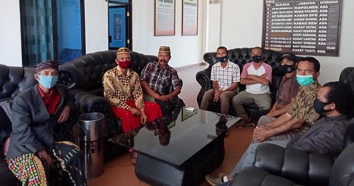 Diduga Gelapkan Dana Desa Pjs Kades Bangka Kenda Dilaporkan ke Polres Manggarai