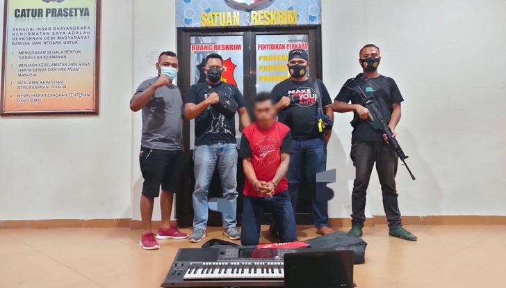Jatanras Polres Manggarai Tangkap Pencuri Keyboard