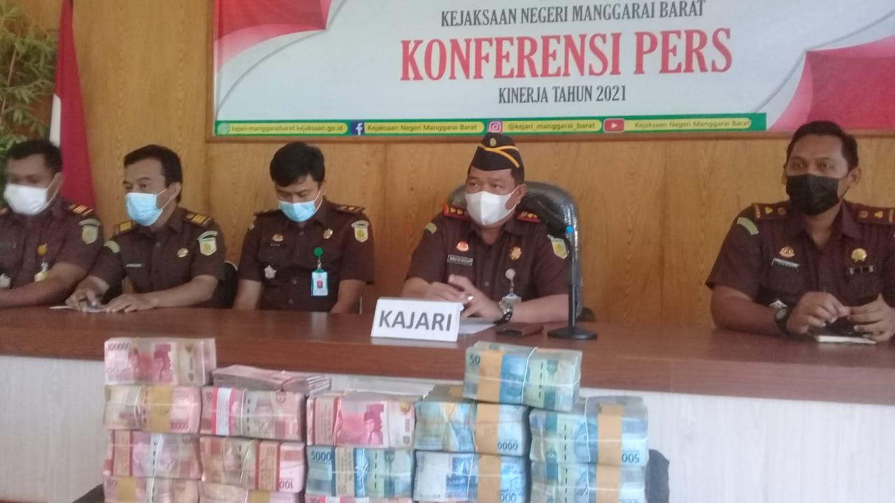 Dugaan Korupsi Aset Pemda Mabar Diusut, Jaksa Sita Rp1,2 Miliar